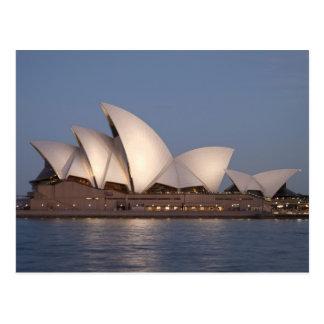 Sydney-Opernhaus an der Dämmerung Postkarte