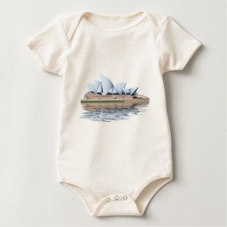 Sydney-Opernhaus Baby Strampler