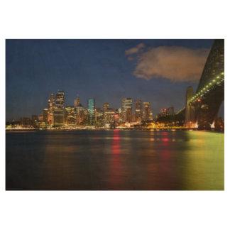 Sydney-Opernhaus, milsons Punkt, Australien Holzposter