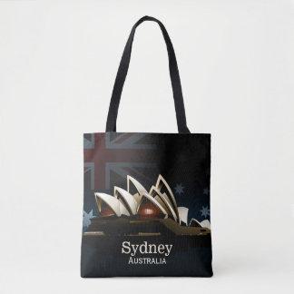 Sydney-Opernhaus nachts Tasche