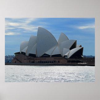 Sydney-Opernhaus Poster