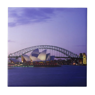 Sydney-Opernhaus und Hafen, neuer Süden 2 Keramikfliese