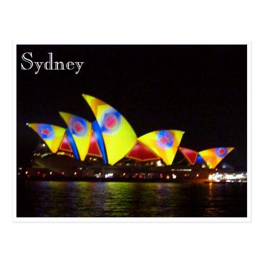 Sydney-Opernhausgelb Postkarten