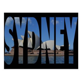 Sydney-Opernhauspostkarte Postkarte