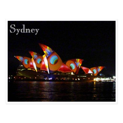 Sydney-Rot-Opernhaus Postkarten