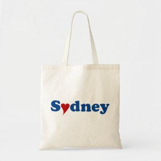 Sydney with Heart Tragetasche