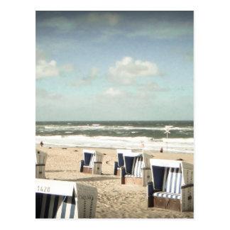 Sylt Strand Postkarte