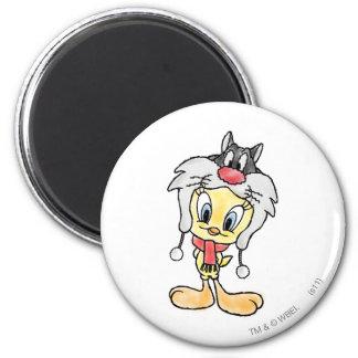 Sylvester Hat Magnets