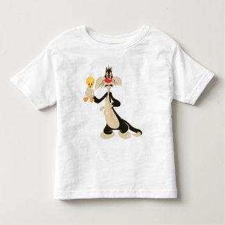 SYLVESTER™ mit TWEETY™ Kleinkind T-shirt
