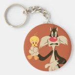 Sylvester mit Tweety Schlüsselanhänger