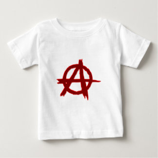 Symbol anarchie anarchy baby t-shirt