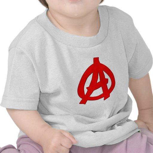 Symbol Anarchie anarchy Tshirt