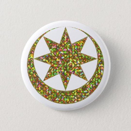 Symbol Astarte Ishtar Runder Button 5,7 Cm