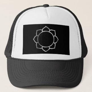 Symbol der Buddhismus-Lotos-Blume Truckerkappe