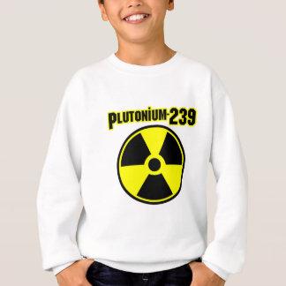 Symbol der Strahlung plutonium239 Sweatshirt