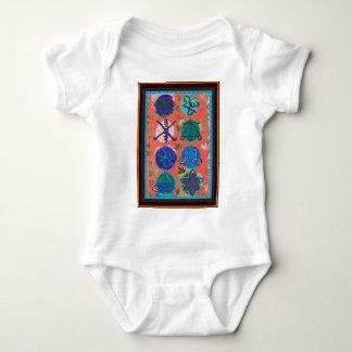 Symbol-Geschenk-Shirts des Verkaufs-KARUNA Reiki Baby Strampler