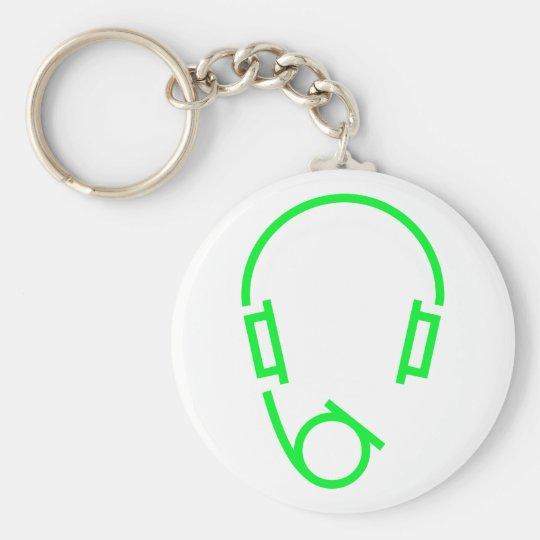 Symbol headset schlüsselanhänger