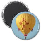 Symbol-Heißluftballon-Magnet Zias Sun Runder Magnet 5,7 Cm