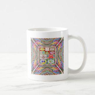 SYMBOL-Kunst: Das heilende Mitleid n gehen Kaffeetasse