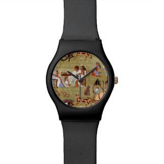 Symbol-Muster Ägyptens | Armbanduhr