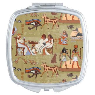 Symbol-Muster Ägyptens | Schminkspiegel