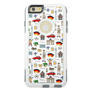 Symbol-Muster Deutschlands | OtterBox iPhone 6/6s Plus Hülle