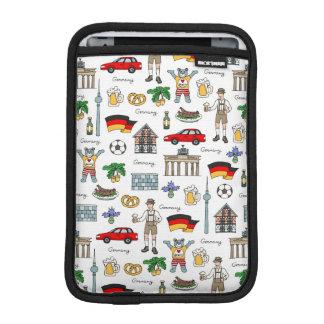 Symbol-Muster Deutschlands | Sleeve Für iPad Mini