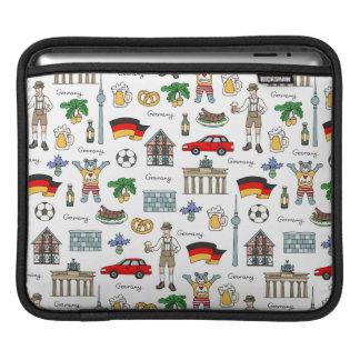 Symbol-Muster Deutschlands | Sleeve Für iPads