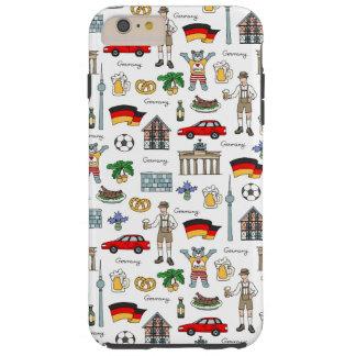Symbol-Muster Deutschlands | Tough iPhone 6 Plus Hülle