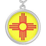 Symbol New Mexiko-Zias Sun Selbst Gestaltete Halskette