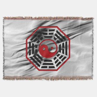 Symbol PaKua/yin u. Yang/I Ging + Ihr backgr. Decke