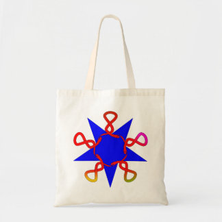 Symbol Pentagramm Ouroboros pentagram Tragetasche