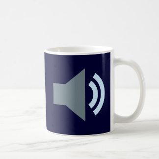 Symbol Sound Audio Kaffeetasse