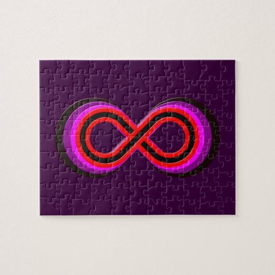 Symbol Unendlichkeit infinity Puzzle