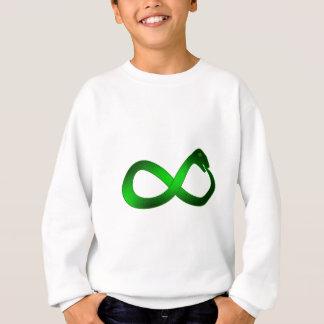 Symbol Unendlichkeit Ouroboros infinity Sweatshirt