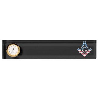 Symbol USA Freemasonic Schreibtischplakette