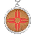 Symbol Zias Sun Halsketten