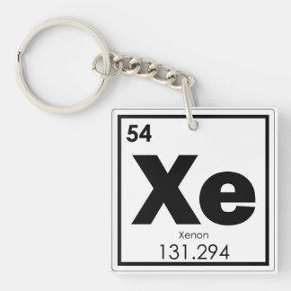Symbolchemie-Formel-GE des chemischen Elements des Schlüsselanhänger