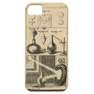 Symbole und Werkzeuge eines Alchemisten iPhone 5 Schutzhülle