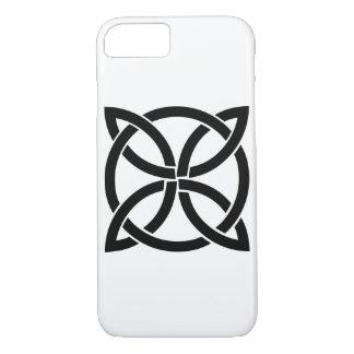 Symbolheide Irlands des keltischen Knotens alter iPhone 8/7 Hülle