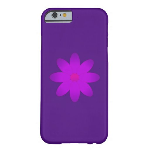 Symbolische Blume Barely There iPhone 6 Hülle