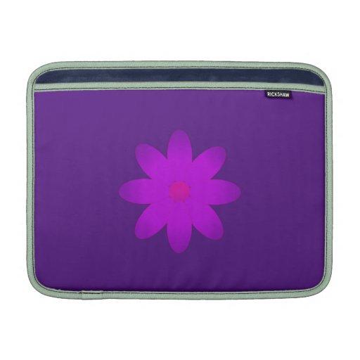 Symbolische Blume MacBook Sleeves