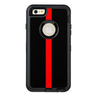 Symbolische dünne rote Linie an OtterBox iPhone 6/6s Plus Hülle
