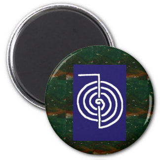 Symbolische Kunst: Reiki Chokurai Runder Magnet 5,1 Cm