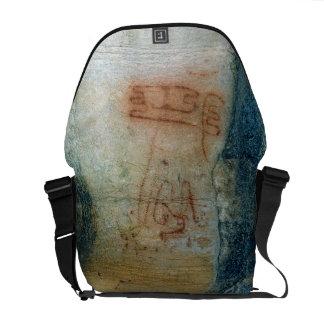 Symbolische Zahlen Höhlenmalerei Kurier Taschen
