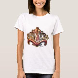 Symmetrische Blüte T-Shirt