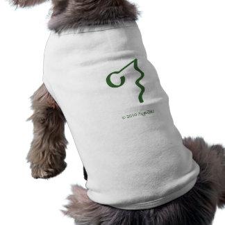 SymTell grünes ignorantes Symbol Hunde T Shirts