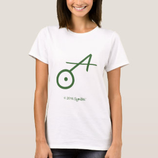 SymTell grünes spontanes Symbol T-Shirt
