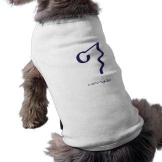 SymTell lila ignorantes Symbol Hunde Shirt