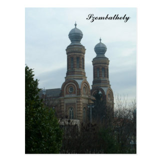 Synagoge Postkarte